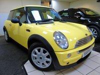 2004 MINI HATCH ONE 1.6 ONE 3d 89 BHP £1595.00