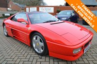 1990 FERRARI 348 3.4 348TS 2d 320 BHP FULL AND COMPREHENSIVE SERVICE HISTORY £59995.00