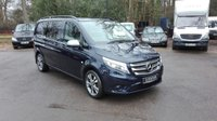 USED 2015 65 MERCEDES-BENZ VITO 2.1 119 BLUETEC AUTO DUALINER SWB COMPACT Heated Seats, Reverse Camera, Auto, One Owner