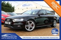 USED 2012 12 AUDI A4 2.0 TDI S LINE BLACK EDITION 4d 141 BHP