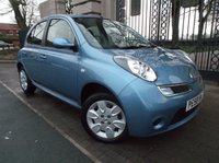 USED 2008 58 NISSAN MICRA 1.2 ACENTA 5d 80 BHP *** FINANCE-- CARD PAYMENTS  & PART EXCHANGE WELCOME *** AIR/CON BLUETOOTH PHONE