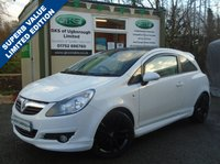 USED 2010 60 VAUXHALL CORSA 1.2 LIMITED EDITION 3d 83 BHP ** FSH + ALLOY WHEELS + CRUISE CONTROL **