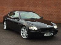 2007 MASERATI QUATTROPORTE 4.2 V8 SPORT GT 4d AUTO 396 BHP £15995.00