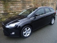 USED 2014 64 FORD FOCUS 1.6 ZETEC NAVIGATOR TDCI 5d 113 BHP ESTATE