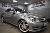 2011 MERCEDES-BENZ C CLASS 2.1 C220 CDI BLUEEFFICIENCY AMG SPORT 2d AUTO 170 BHP £11499.00