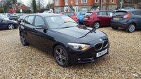 2013 BMW 1 SERIES 2.0 116D SPORT 5d AUTO 114 BHP £11988.00