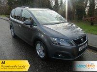 2012 SEAT ALHAMBRA 2.0 CR TDI ECOMOTIVE SE 5d 140 BHP £11000.00