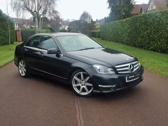 2012 MERCEDES-BENZ C CLASS 1.8 C180 BLUEEFFICIENCY SPORT 4d AUTOMATIC PETROL NICE EXAMPLE DRIVES LIKE HALF THE MILES JUST SERVICED M-O-T TILL 2019 BEST FINANCE RATES AVAILABLE  £9995.00