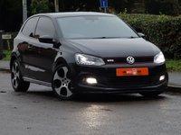 2012 VOLKSWAGEN POLO 1.4 GTI DSG 3dr AUTO  £6450.00