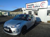 USED 2012 S CITROEN DS3 1.6 E-HDI AIRDREAM DSPORT 3d 111 BHP £34 PER WEEK, NO DEPOSIT - SEE FINANCE LINK BELOW