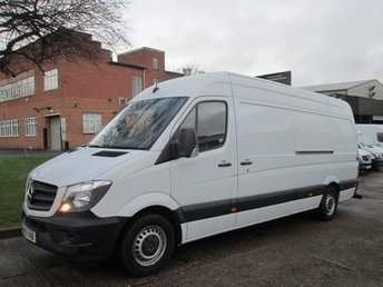 2015 MERCEDES-BENZ SPRINTER 2.1 313CDI LWB HIGH ROOF 129BHP NEW SHAPE. LOW 61,000 MILES £12490.00
