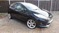 USED 2010 10 FORD FIESTA 1.6 ZETEC S TDCI 3dr £20/Year Tax, Bluetooth