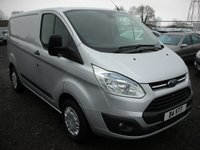 2013 FORD TRANSIT CUSTOM 2.2 290 TREND LR P/V 1d 124 BHP £11000.00