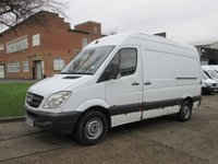USED 2007 07 MERCEDES-BENZ SPRINTER 2.1 311CDI MWB HIGH ROOF 109 BHP. LOW MILES.  166,979 MILES. 1 PREVIOUS OWNER. PX TO CLEAR.