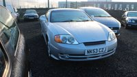 USED 2003 53 HYUNDAI S-COUPE 1.6 1.6 S 3d 104 BHP MULTI POINT USABILITY ASSURED