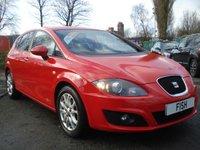 2012 SEAT LEON 1.6 CR TDI SE COPA 5d 103 BHP £5590.00
