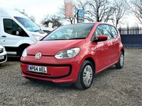 USED 2014 64 VOLKSWAGEN UP 1.0 MOVE UP 3d  +FINANCE AVAILABLE/ONE OWNER+