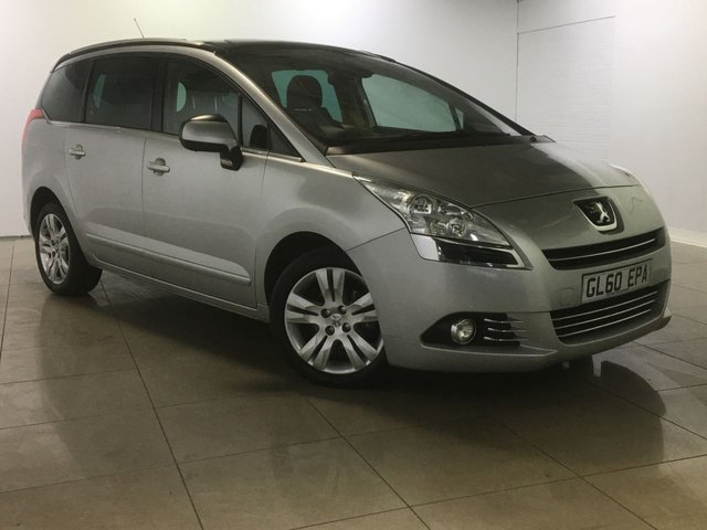 View our 2010 60 PEUGEOT 5008 1.6 HDI EXCLUSIVE 5d 112 BHP