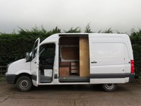 USED 2013 63 VOLKSWAGEN CRAFTER 2.0 CR35 TDI H/R P/V STARTLINE BMT 1d 107 BHP *NO VAT TO PAY  *AA DEALER PROMISE*