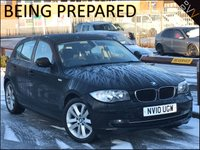 2010 BMW 1 SERIES 2.0 118D SPORT 5d 141 BHP £5995.00
