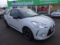 USED 2014 64 CITROEN DS3 1.6 DSTYLE PLUS 3d 120 BHP 12 MONTHS M.O.T ..6 MONTHS WARRANTY