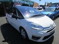 USED 2013 13 CITROEN C4 PICASSO 1.6 PLATINUM EGS E-HDI 5d AUTO 110 BHP CALL 01543 379066... 12 MONTHS MOT... 6 MONTHS WARRANTY... JUST ARRIVED