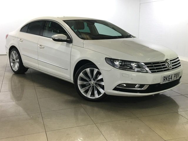 View our 2014 64 VOLKSWAGEN CC 2.0 GT TDI BLUEMOTION TECHNOLOGY DSG 4d AUTO 138 BHP