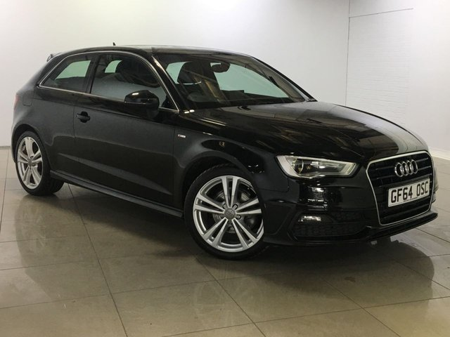 View our 2014 64 AUDI A3 2.0 TDI S LINE 3d AUTO 148 BHP
