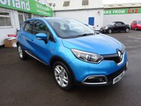 USED 2013 63 RENAULT CAPTUR 0.9 DYNAMIQUE MEDIANAV ENERGY TCE S/S 5d 90 BHP 12 MONTHS MOT.. 6 MONTHS WARRANTY... FINANCE AVAILABLE