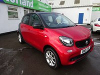 USED 2015 15 SMART FORFOUR 1.0 PASSION 5d 71 BHP 12 MONTHS MOT... 6 MONTHS WARRANTY
