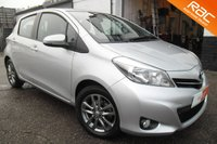 2013 TOYOTA YARIS 1.3 VVT-I ICON PLUS 5d 99 BHP £6800.00