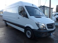2013 MERCEDES-BENZ SPRINTER 313 CDI LWB HI ROOF, 130 BHP [EURO 5], LOW MILES £10995.00
