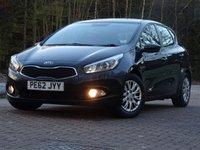 2012 KIA CEED 1.4 1 5d 98 BHP £5333.00