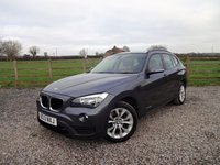 USED 2013 13 BMW X1 2.0 SDRIVE18D SPORT 5d AUTO 141 BHP ONLY 1 OWNER WITH FULL BMW SERVICE HISTORY