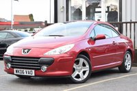 USED 2006 06 PEUGEOT 307 2.0 SE COUPE CABRIOLET HDI 2d 136 BHP GOOD SERVICE HISTORY, LOW MILEAGE AND GREAT CONDITION