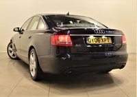 USED 2006 06 AUDI A6 2.7 TDI S LINE 4d 177 BHP + 2 PREV OWNER + AIR CON + LEATHER SEATS +