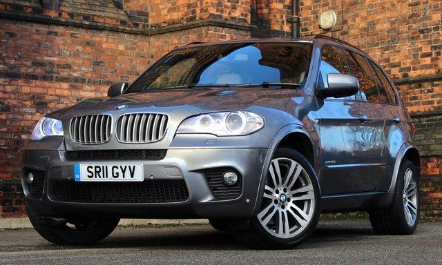 2011 BMW X5 3.0 XDRIVE40D M SPORT 5d AUTO 302 BHP