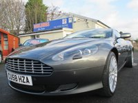 USED 2008 58 ASTON MARTIN DB9 5.9 V12 2d AUTO 470 BHP DRIVER & PASSENGER ELECTRIC SEAT WITH MEMORY SETTING