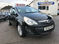 USED 2013 62 VAUXHALL CORSA 1.2 SE 5d 83 BHP Heated seats, Heated wheel, 12 months MOT & service inc
