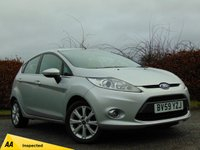 USED 2009 59 FORD FIESTA 1.4 ZETEC 16V 5d * 128 POINT AA INSPECTED *