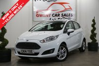 USED 2014 14 FORD FIESTA 1.0 ZETEC ECOBOOST 5d 99 BHP *TAX EXEMPT,, AMAZING EXAMPLE*