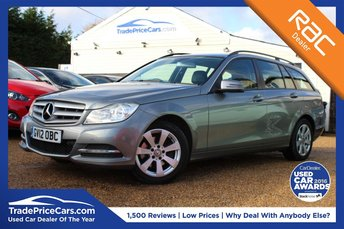2012 MERCEDES-BENZ C CLASS 2.1 C220 CDI BLUEEFFICIENCY EXECUTIVE SE 5d 168 BHP £8450.00
