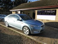 USED 2007 57 FORD MONDEO 2.5 TITANIUM X 5d 218 BHP SERVICE HISTORY, 2 KEYS, SUNROOF, HEATED FRONT SEATS, HEATED FRONT AND REAR SCREENS