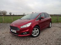 USED 2017 FORD S-MAX TITANIUM 2.0 TITANIUM TDCI 180BHP 7 SEATER  ONLY 1 OWNER FROM NEW