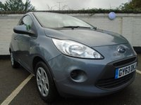USED 2013 63 FORD KA 1.2 EDGE 3d 69 BHP GUARANTEED TO BEAT ANY 'WE BUY ANY CAR' VALUATION ON YOUR PART EXCHANGE