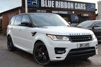 USED 2014 14 LAND ROVER RANGE ROVER SPORT 3.0 SDV6 AUTOBIOGRAPHY DYNAMIC 5d 288 BHP TOP OF THE RANGE, MEGA SPEC, ELEC SIDE STEPS,