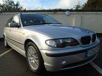 2003 BMW 3 SERIES 2.0 320D ES TOURING 5d 148 BHP £1999.00