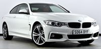 USED 2014 64 BMW 4 SERIES 2.0 420d M Sport xDrive 2dr Auto Pro Media, Heated Red Leather