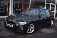 USED 2014 14 BMW 3 SERIES 2.0 318D M SPORT TOURING 5d AUTO 141 BHP