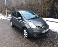USED 2006 56 NISSAN NOTE 1.4 SE 5d 87 BHP 6 MONTHS PARTS+ LABOUR WARRANTY+AA COVER